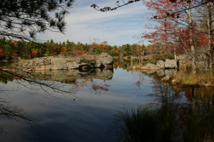 Canadian Shield pond