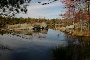 Canadian Shield pond