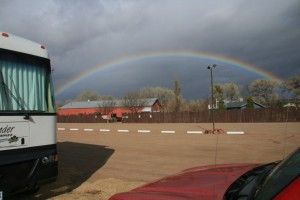 A Rainbow over the Blazin' M Ranch