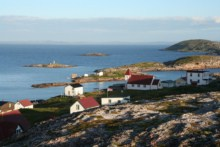 Battle Harbour and church
