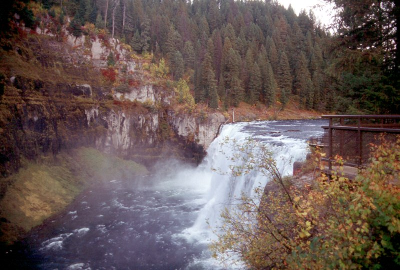 Water Fall Near Yellowstone NP