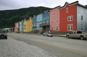 Colourfull downtown Dawson City
