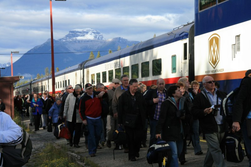 All Aboad the Rocky Mountaineer