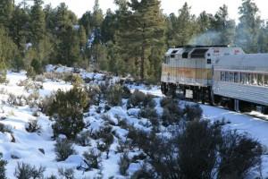 Fine Scenery by Train
