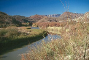 Along the Rio Bravo del Norte